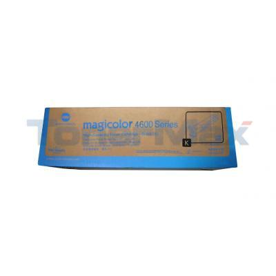 KONICA MINOLTA MAGICOLOR 4650DN TONER BLACK 8K